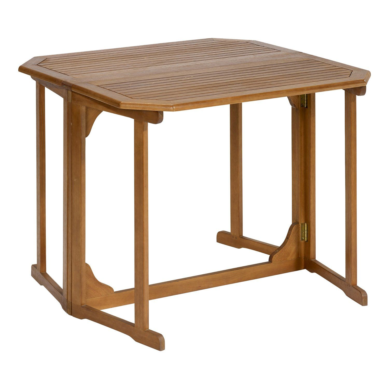 Gartentisch Greenville Rechteckig Fsc Braun 100 Cm X 92 Cm Kaufen Bei Obi Gartentisch Haus Deko Tisch