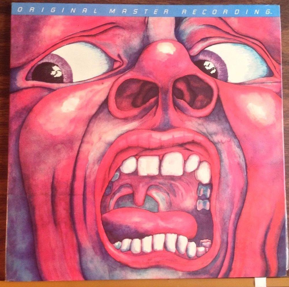 King Crimson In The Court Of The Crimson King Nmint Mfsl Rare Vinyl Lp Album Art Album Cover Art Rock Album Covers