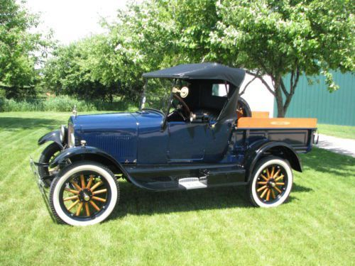 1926 Model T Ford Roadster Pickup Truck Factory Original Pickup