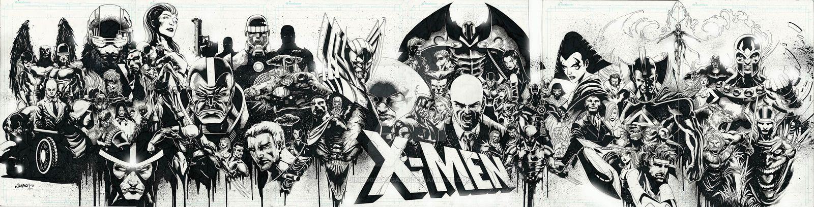 The X-Men Legacy by Jimbo02Salgado