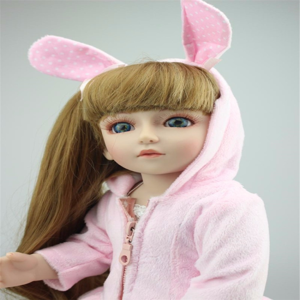 87.99$  Buy here - SD/change BJD doll and girls toys gifts Princess baby 18inch/45cm  #buychinaproducts