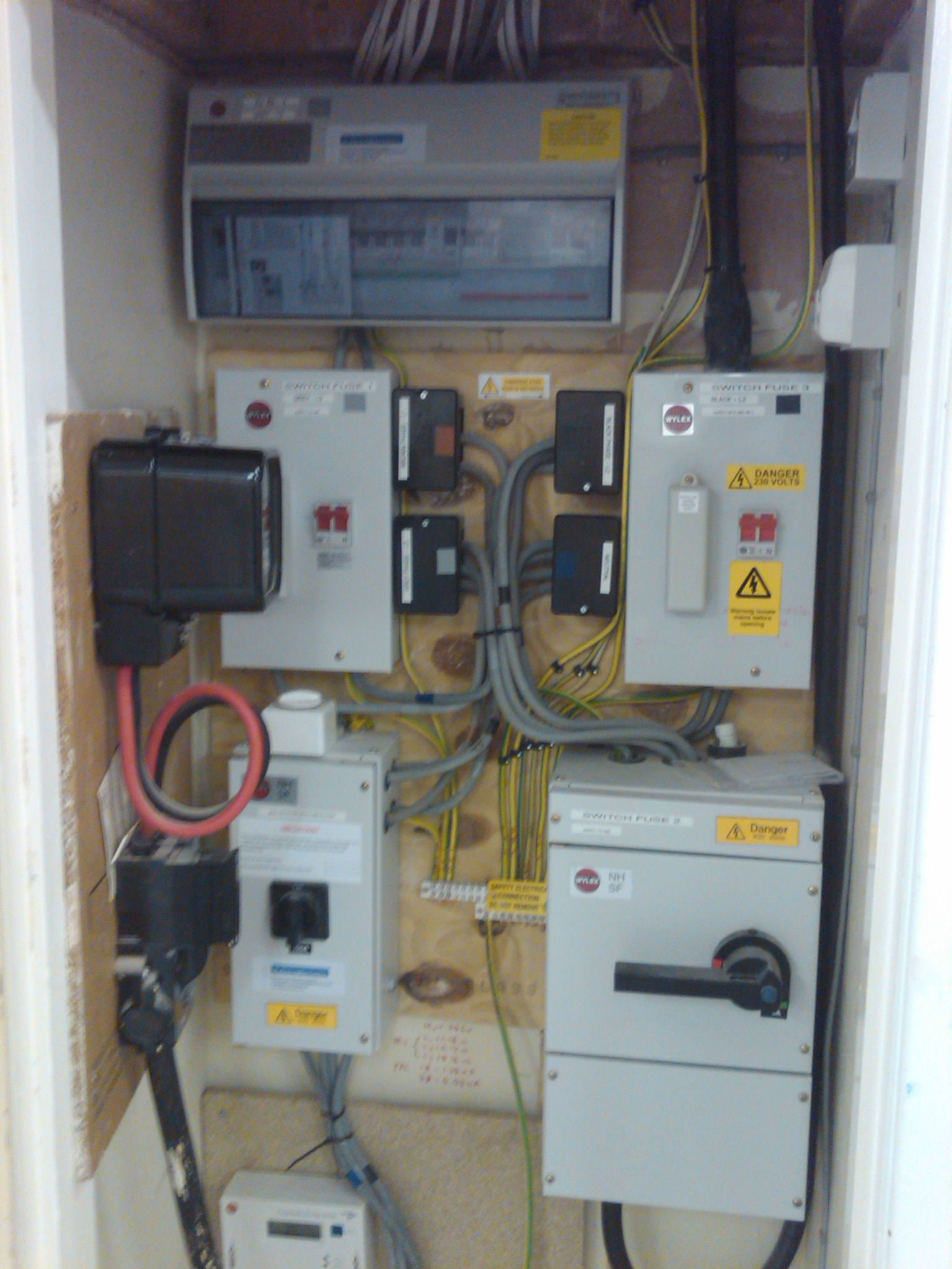 3 Phase Intake And Distribution Boards