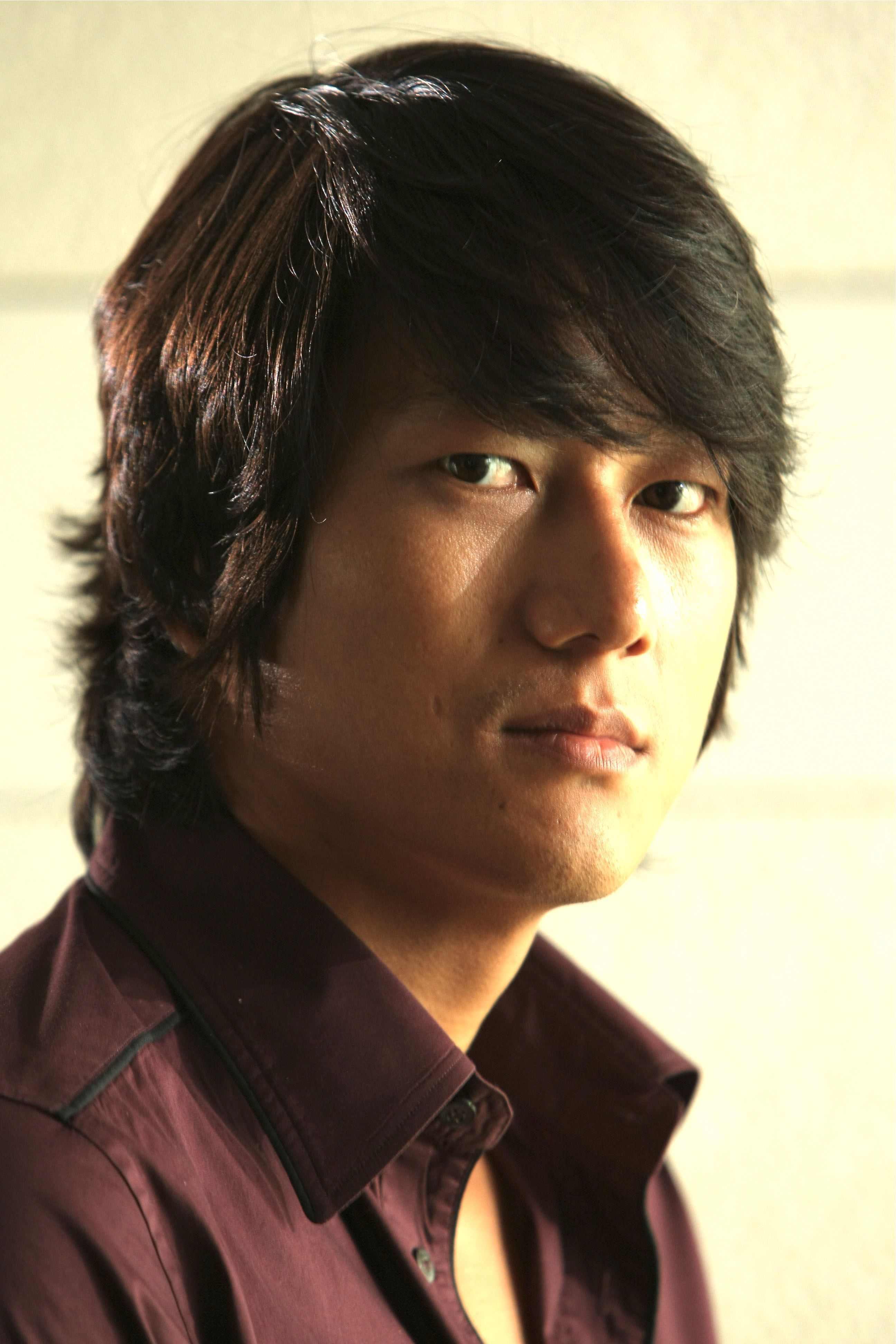 Sung Kangs Long Layered Hairstyle - He Is Totally Hot -7128