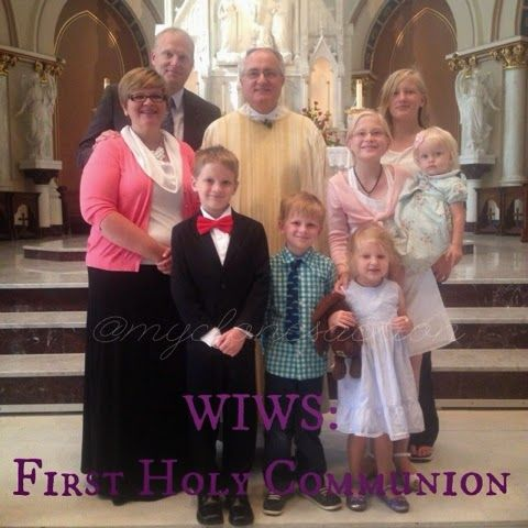 """I added """"My Clones in Action: WIWS: First Holy Communion"""" to an #inlinkz linkup!http://www.myclonesinaction.com/2014/05/wiws-first-holy-communion-6th-sunday-in.html"""