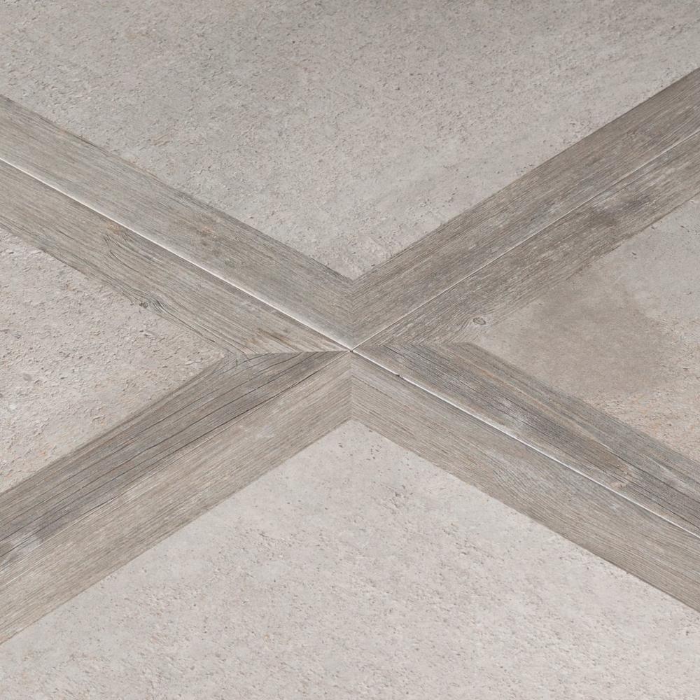 Regina Gray Porcelain Tile 24in X 24in 100211036 Floor And