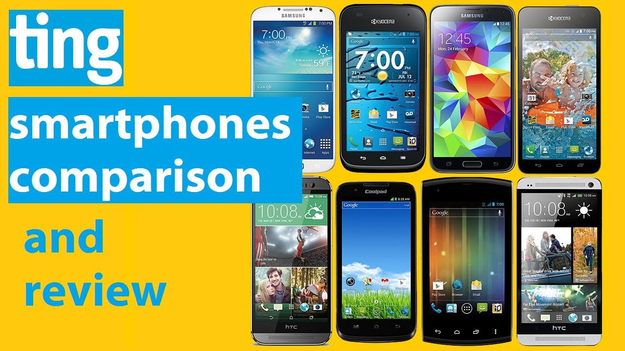 Ting phones reviews and comparison. Newest smartphones
