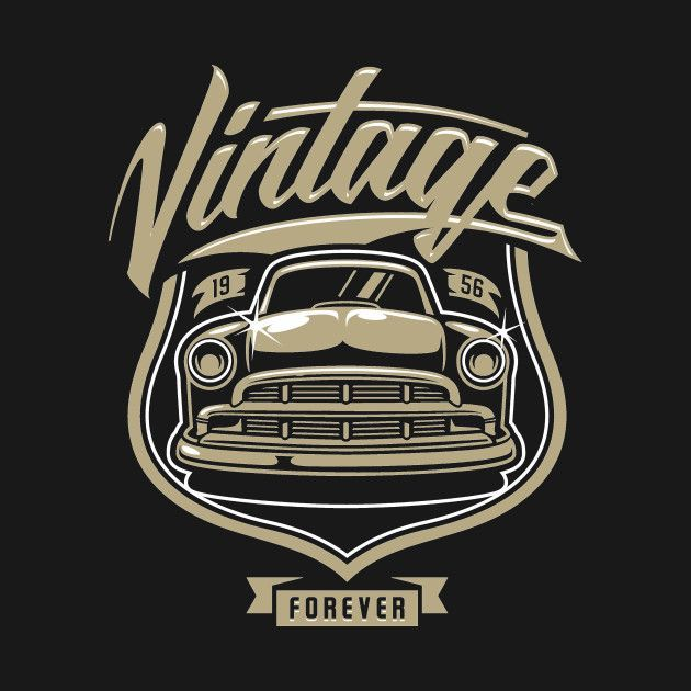 Check out this awesome '1956+Vintage+Classic+Car' design on @TeePublic!