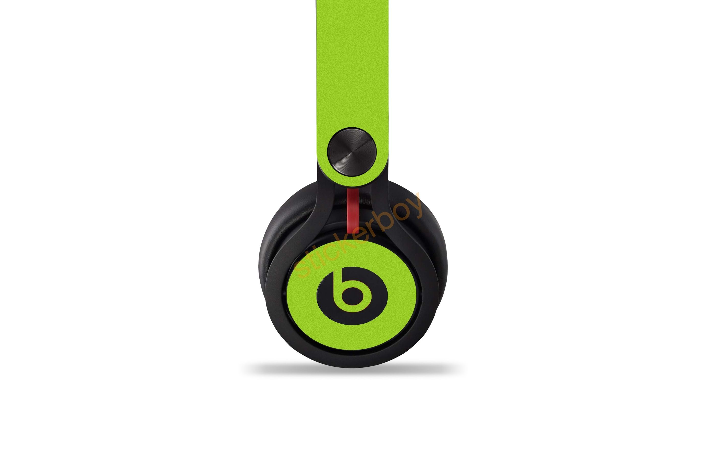 Customize Your Beats By Dre Mixr Using Lime Green Antibacterial