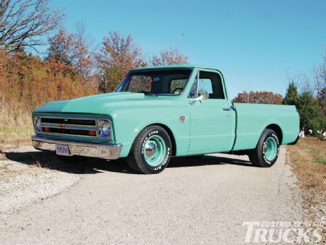 1967 Chevrolet C10 Fleetside Custom Classic Trucks Magazine