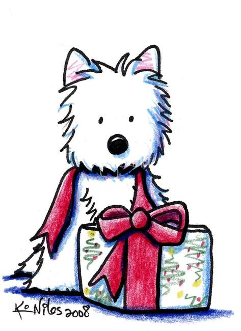 """Westie Gift"" by Kim Niles 