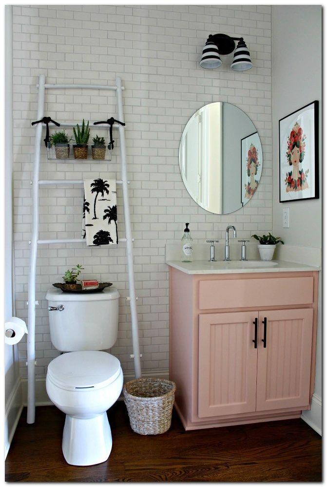 50 Ideas To Decorate Small Apartment On A Budget The Urban Interior Small Bathroom Decor Cute Bathroom Ideas Small Apartment Decorating