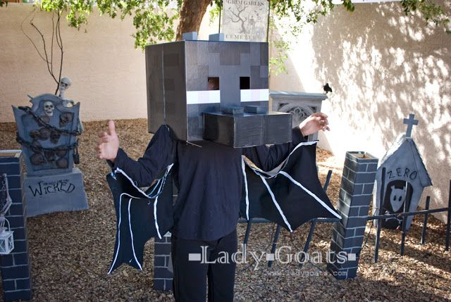 Lady Goats: How to Make an Enderdragon Costume   Minecraft ...