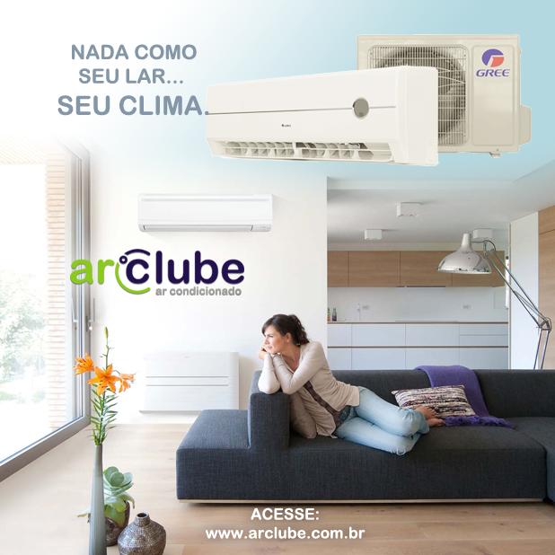 Já que podemos organizar o ambiente de casa, que tal escolher um clima ideal para ele?  Para mais informações: www.arclube.com.br