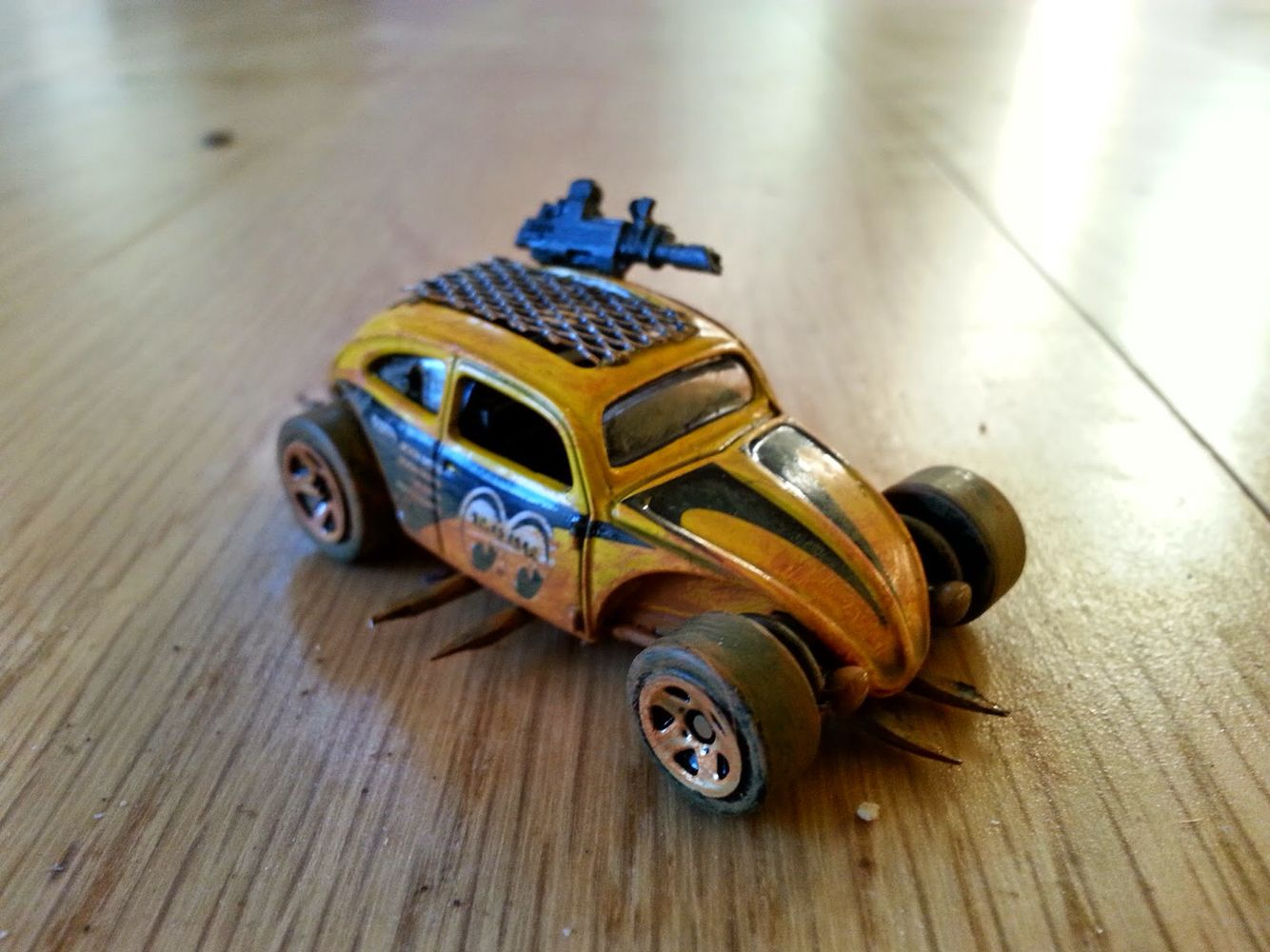Mad Max style custom car