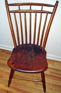 Spindle Back Chair Circa 1780 Chair Antique Chairs Rocking Chair