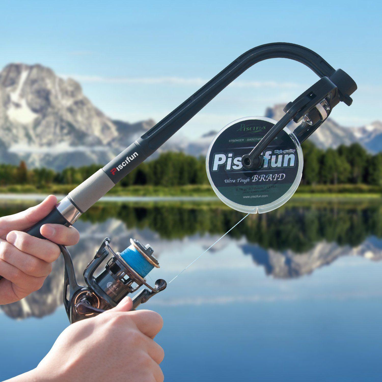 Piscifun Fishing Line Winder Spooler Machine Spinning Reel Spool Spooling Sta...