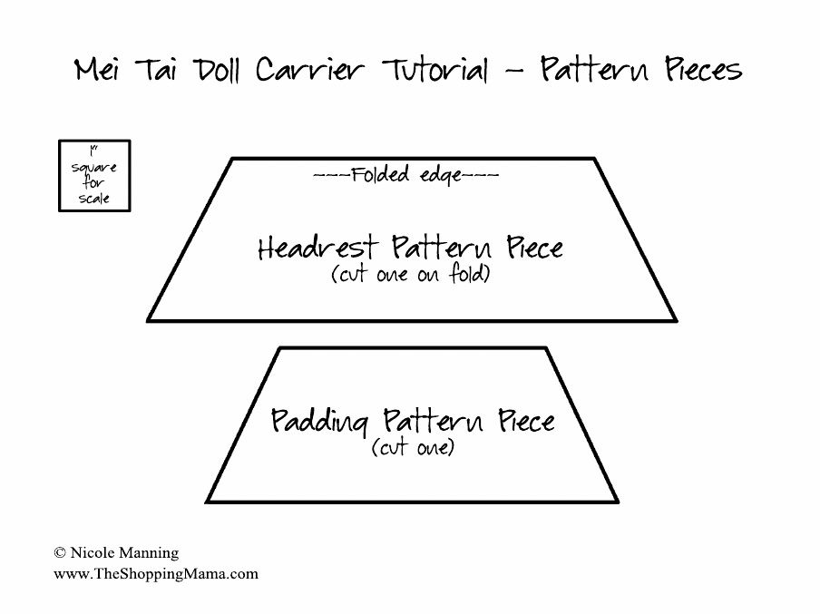Mei Tai Doll Carrier Pattern - The Shopping Mama | Scribd ...