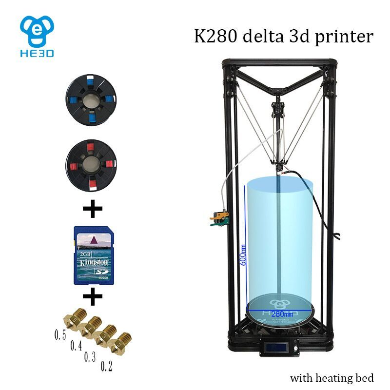 High Precision He3d K280 Large Size 280mm 600mm Delta Auto