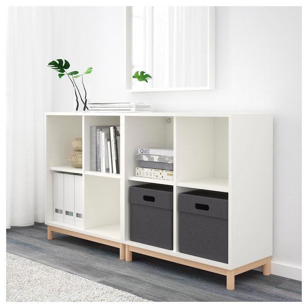 Ikea Eket Combinazione Di Mobili Con Gambe Soggiorno E Salotto Nel