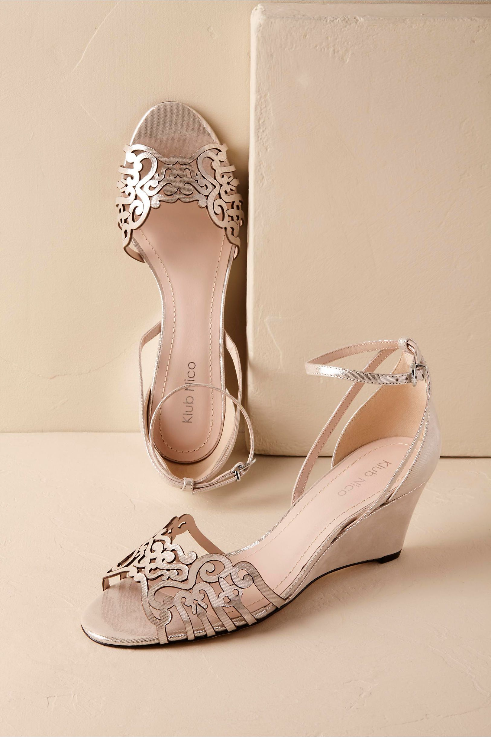 df1075f27512 BHLDN Kingston Wedge in Bride Bridal Shoes   Accessories Bridal Shoes