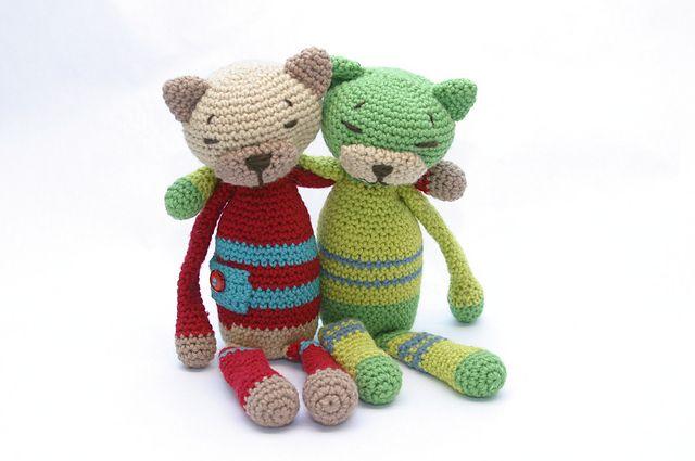 Amigurumi Boneka : My cats crochet amigurumi cats ravelry and projects