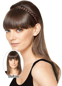 Hair Extensions.com :: The Hair Professionals :: Hairpieces & Ponytails :: Hairwraps :: French Braid Band 1pc by Hairdo