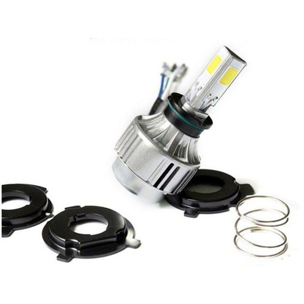 4500lm 40w H4 Cob Hi Lo Led Motorcycle Moto Headlight Bulb Lamp White 6000k 12v Deco Moto Led Moto