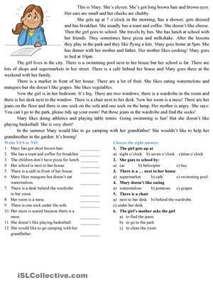 1st Grade Reading Comprehension Worksheets | Amish | Pinterest ...