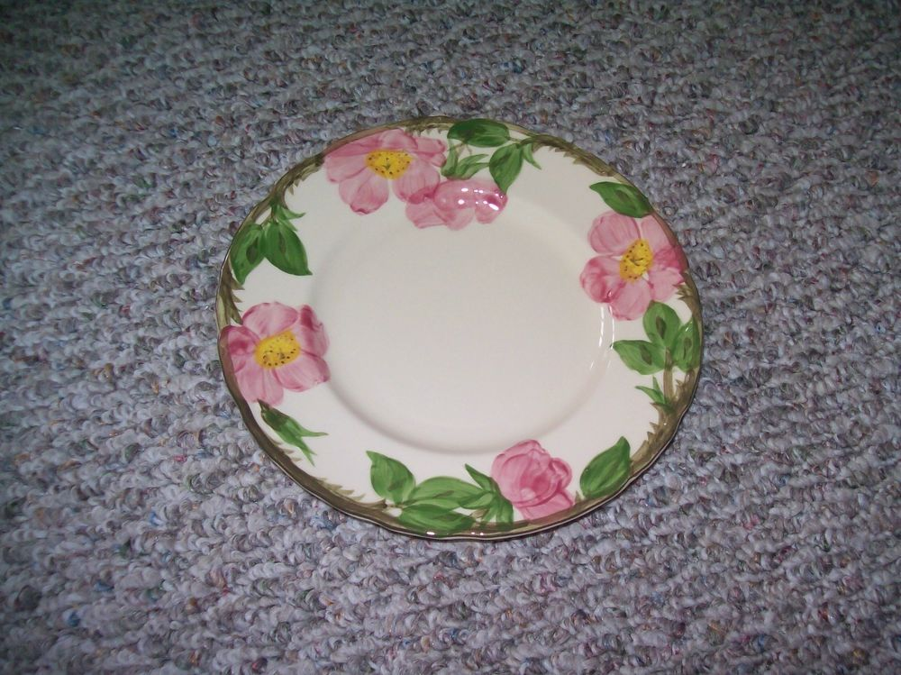 6 FRANCISCAN DESERT ROSE 10 1/2  HAND DECORATED CLASSIC USA MADE DINNER PLATES | momu0027s cock-a-doodle-dou0027s | Pinterest | Decorating & 6 FRANCISCAN DESERT ROSE 10 1/2