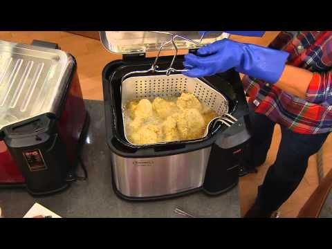Butterball Xxl Digital 22 Lb Indoor Electric Turkey Fryer By Masterbuilt With Mary Beth Roe Youtub Turkey Fryer Turkey Fryer Recipes Butterball Turkey Fryer