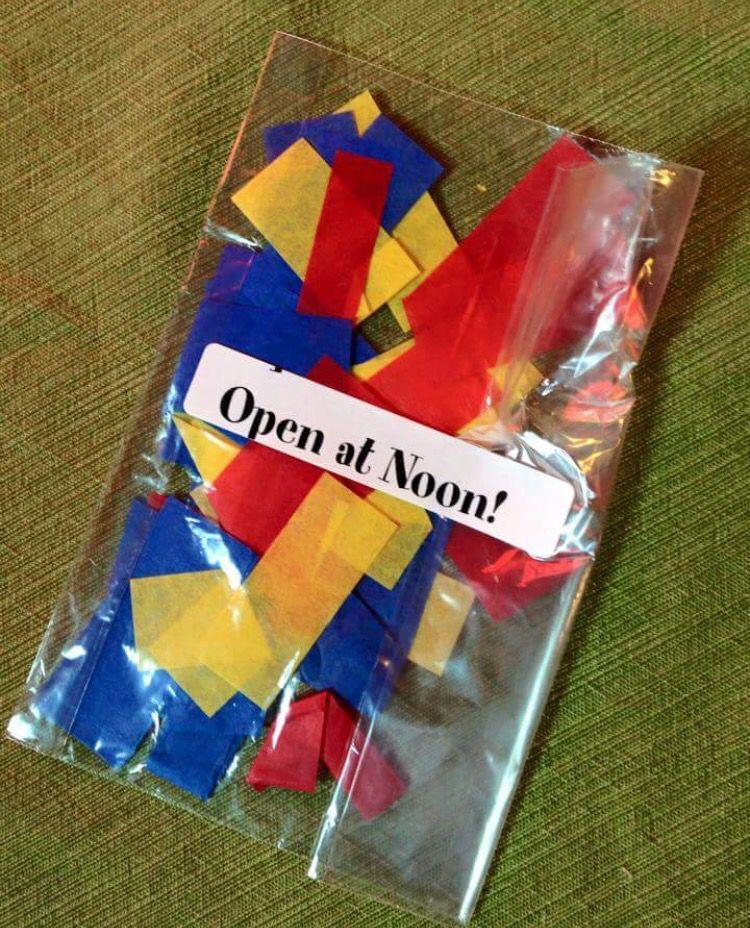 Confetti at Louisiana Children's Museum