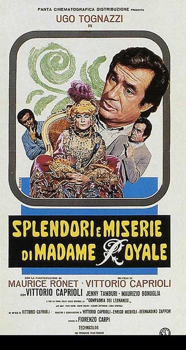 Resultado de imagen de splendori e miserie di madame royale film