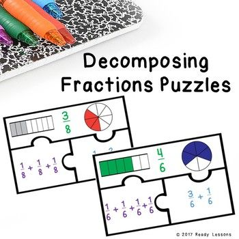Looking For A Fun Interactive Teaching Idea For Decomposing Fractions Well Bingo Look No Further As Deco Decomposing Fractions Fractions Worksheets Fractions Decomposing fractions worksheets 4th grade