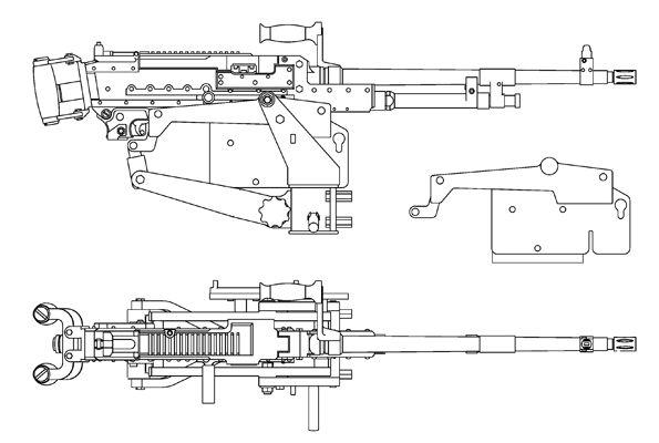 m60 machine gun blueprints go back gallery for machine gun drawings