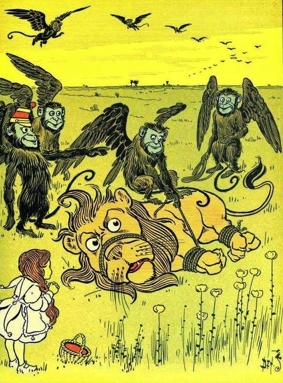 W W Denslow Illustration For The Wonderful Wizard Of Oz By L Frank Baum 1900 W W Denslow She C Wizard Of Oz Book The Wonderful Wizard Of Oz Wizard Of Oz