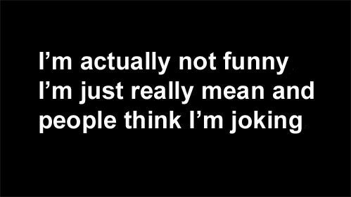 I M Actually Not Funny Words Quotes Funny Quotes