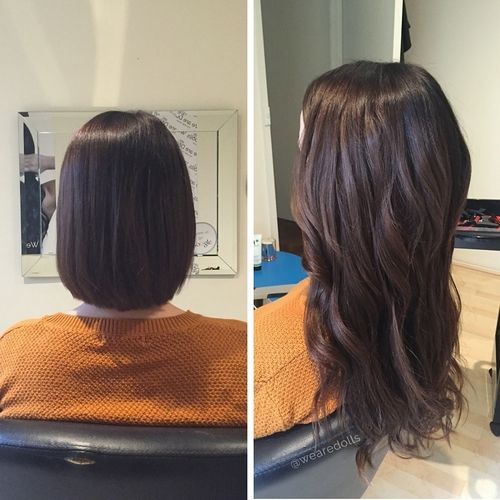 Tape Hair Extensions For Thick Hair Hair Extensions For Short
