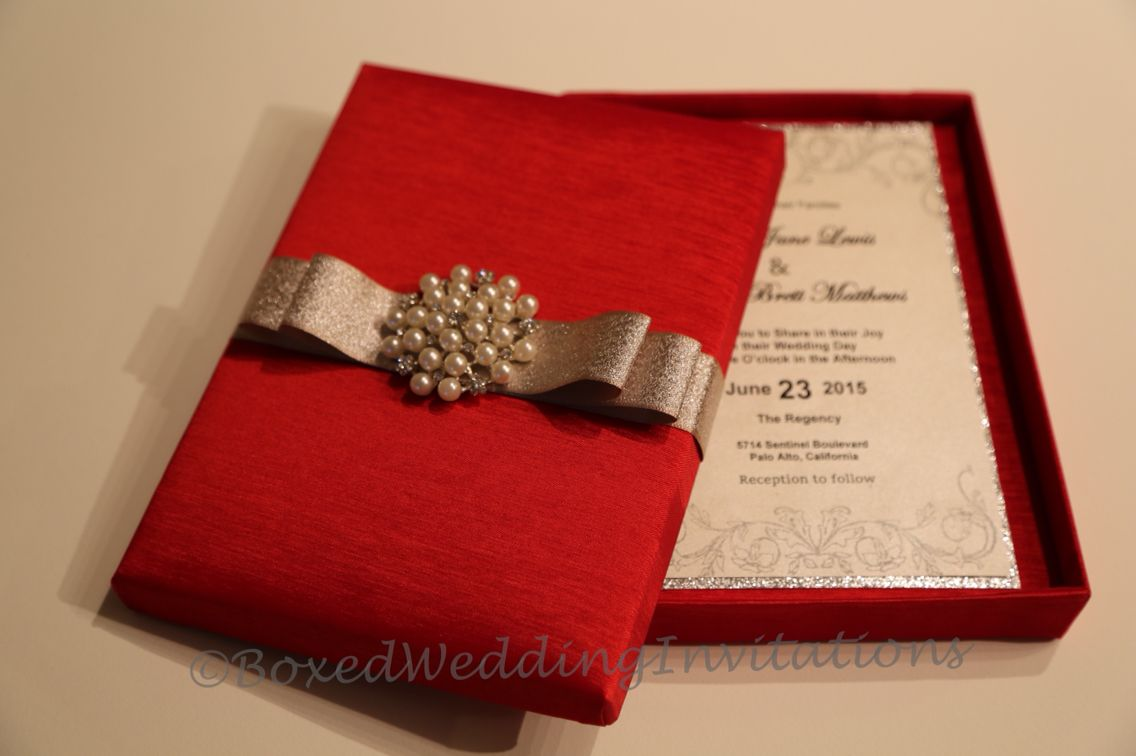 We Made These Gorgeous Wedding Invitation Boxes Cards For An Indian Bride