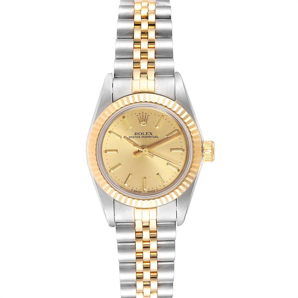 Rolex Oyster Perpetual Steel Yellow Gold Ladies Watch 67193 Rolex Oyster Rolex Watches Women Rolex Oyster Perpetual