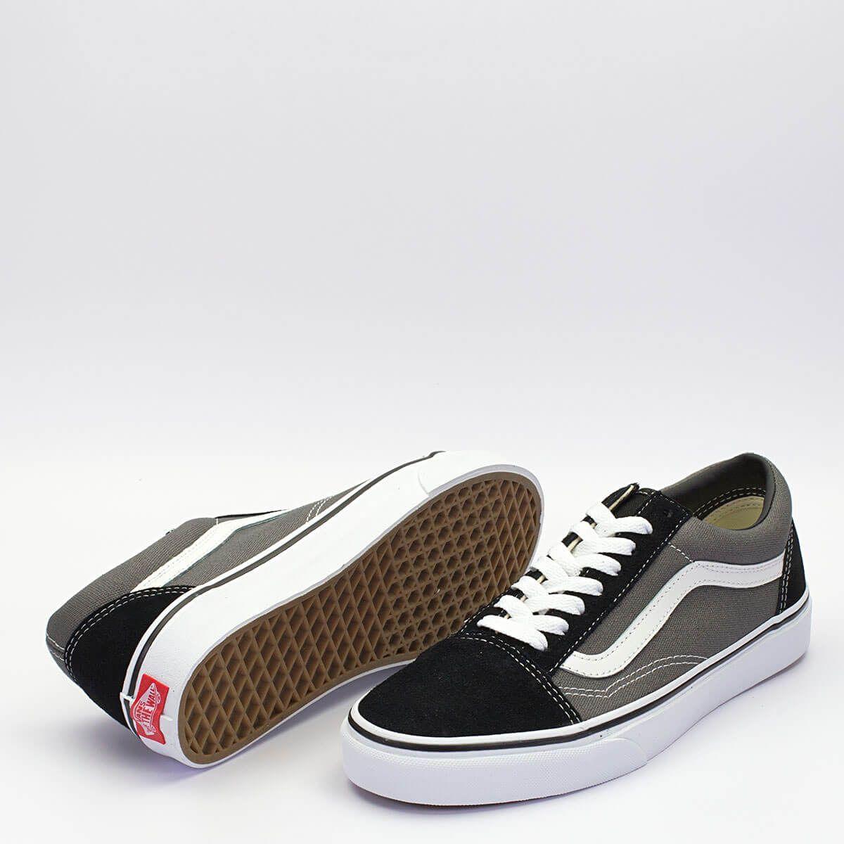 444d8acb3b Παπούτσια · Vans Old Skool σε γκρι χρώμα με μαύρες λεπτομέρειες