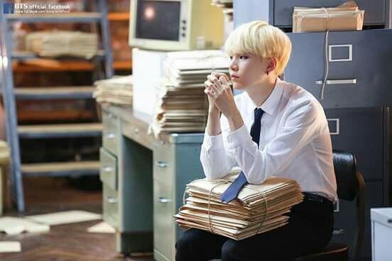 Min Yoongi photoshoot