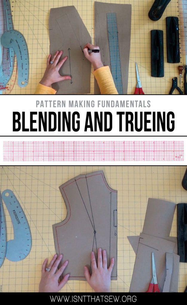 Pattern Making Fundamentals: Blending and Trueing   Patterns ...