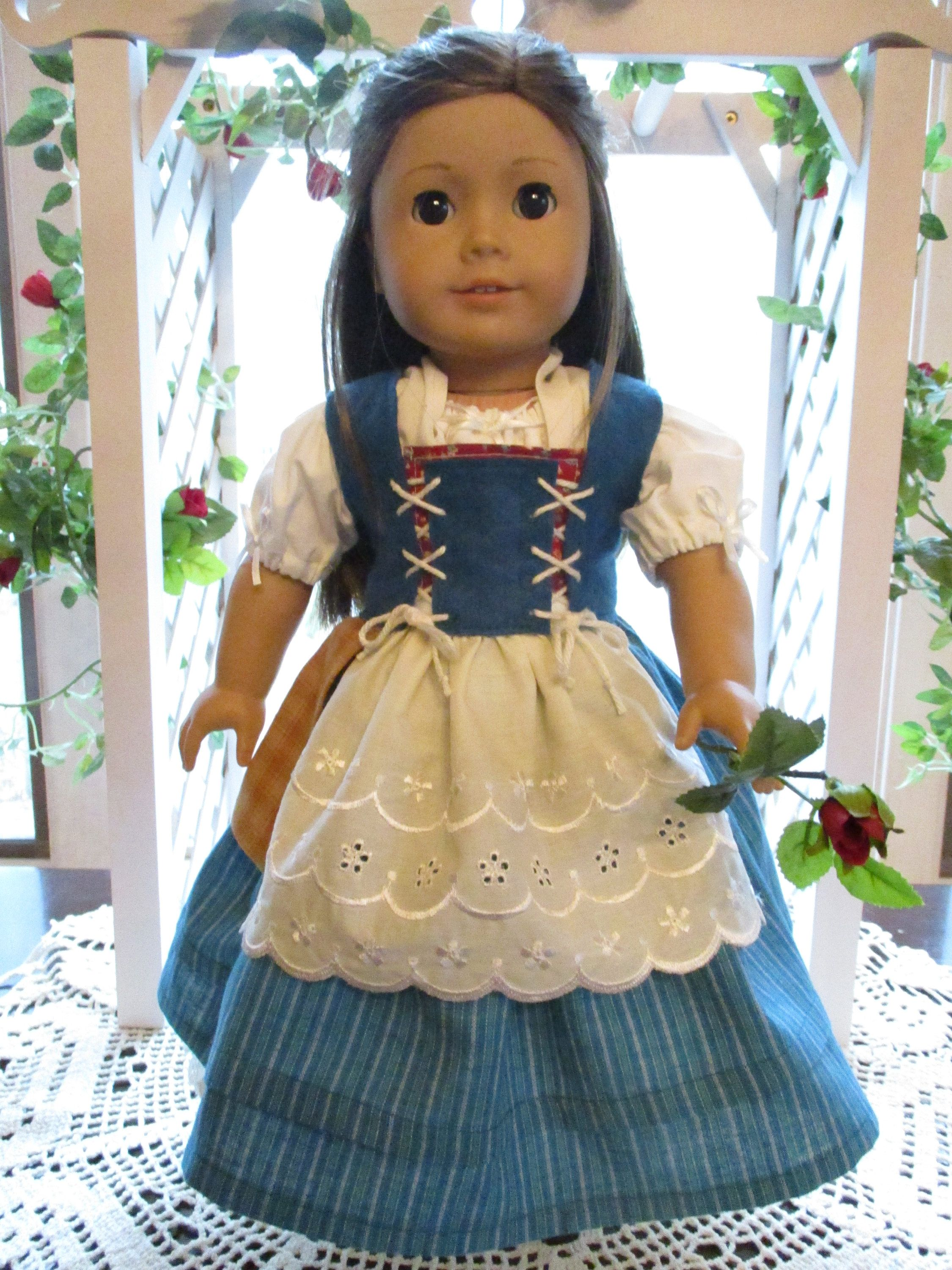 Wizard of Oz Dorothy Outfit for American Girl Doll by MotherofNine ...