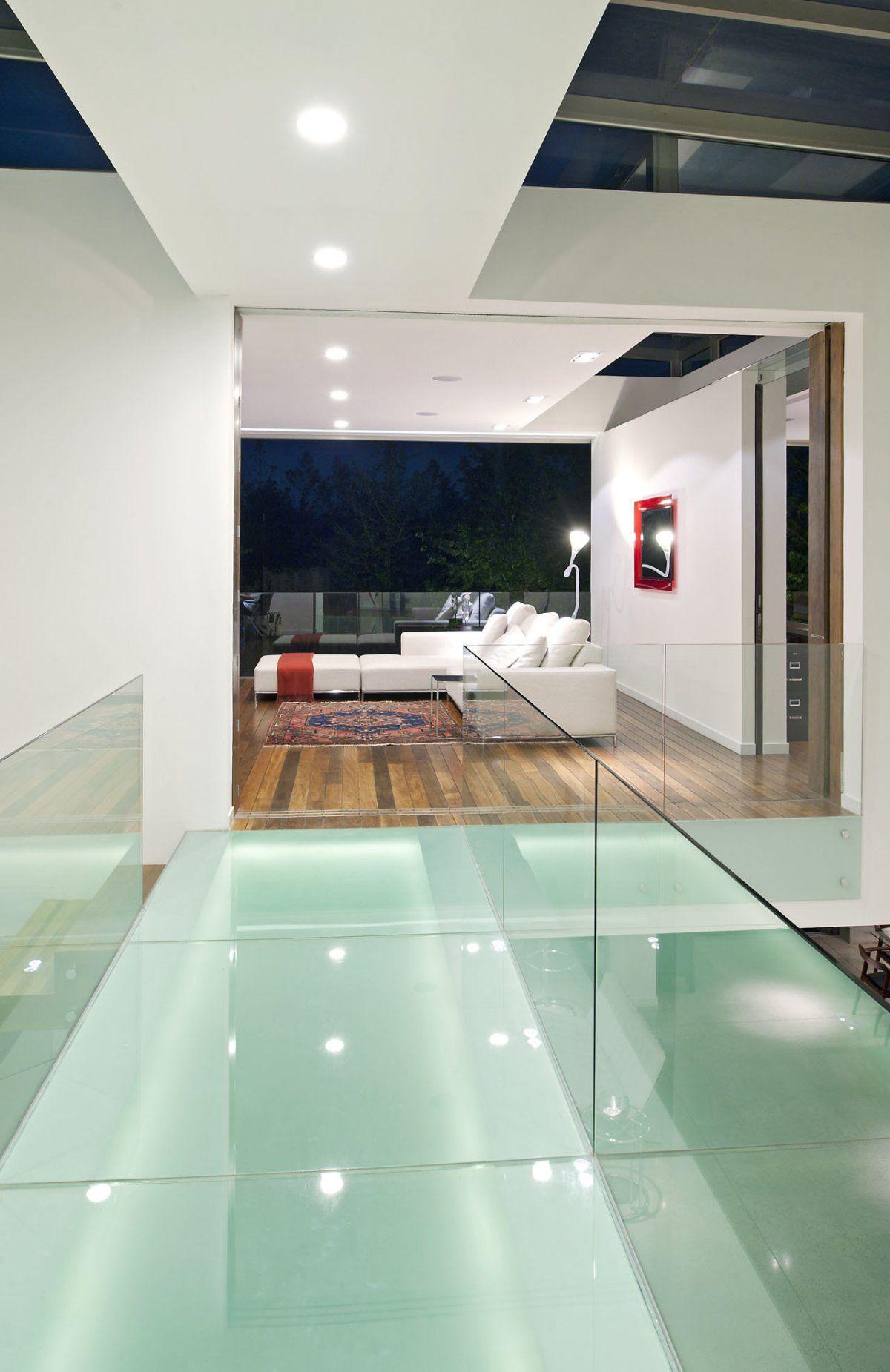 GlassBridge over Atrium Foyer coolness...design inspiration for a ...