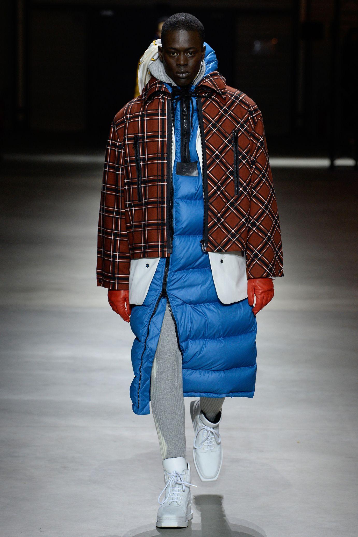 Fashion Week Homme Street Doudoune