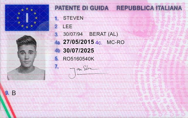 california driver license valid in europe
