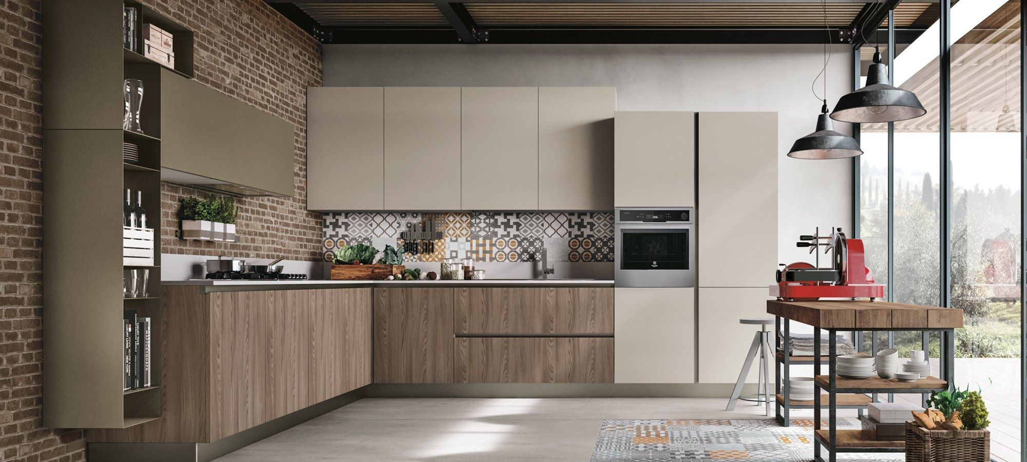 cucine moderne stosa - modello cucina infinity 13 | Cocinas ...