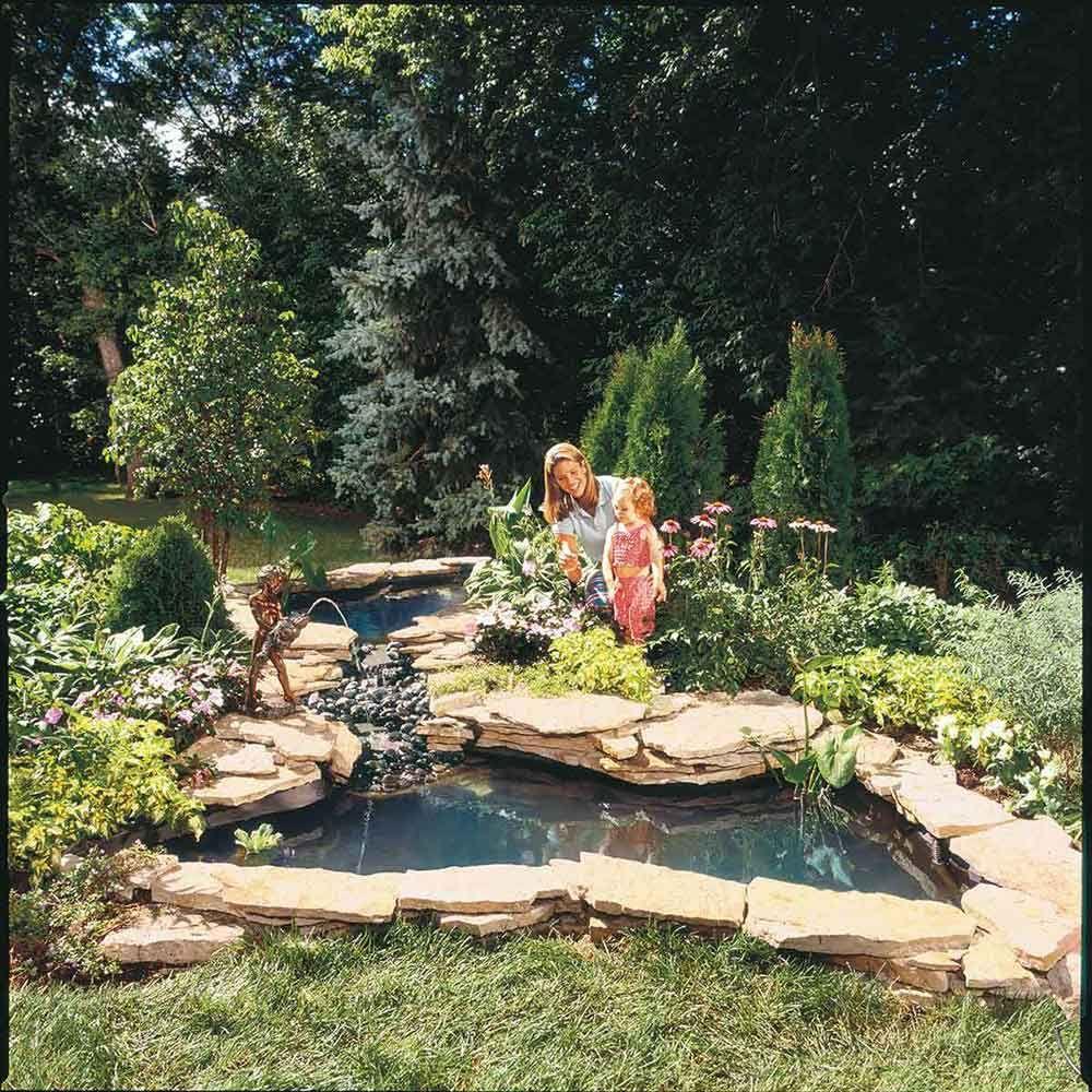 Ponds Backyard, Diy Garden Fountains