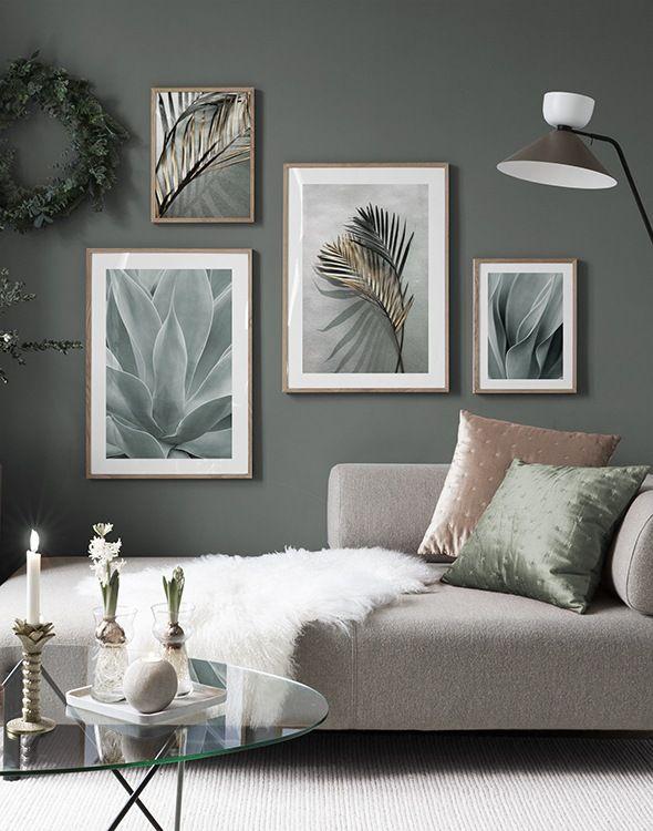 Einrichtungsideen und Inspiration | Kunst & Wohnideen - Desenio.at #wallcollage