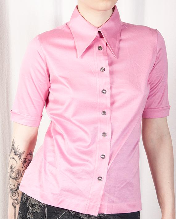Light Pink Short Sleeved Shirt